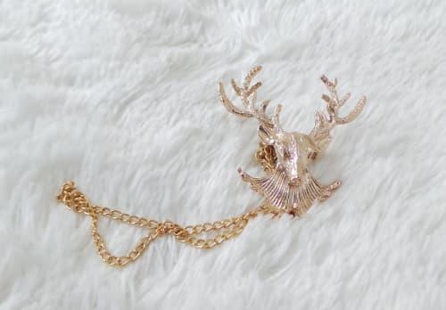 Deer Shaped Brooch
