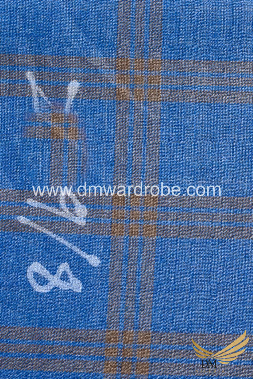 Suiting Turquoise Blue Fabric