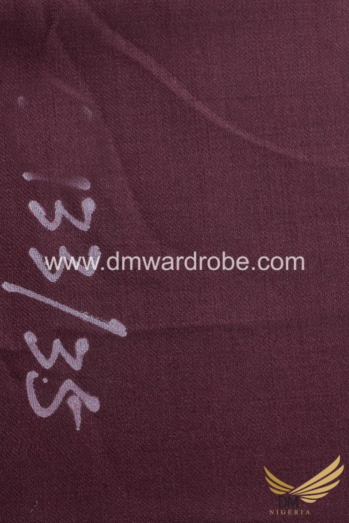 Suiting Redwood Color Fabric