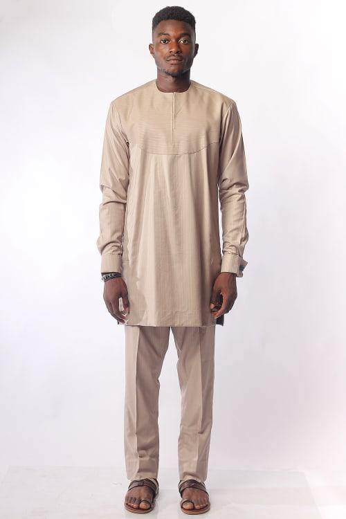 Regal Carton Colour Two-Piece Atiku Men's Wear