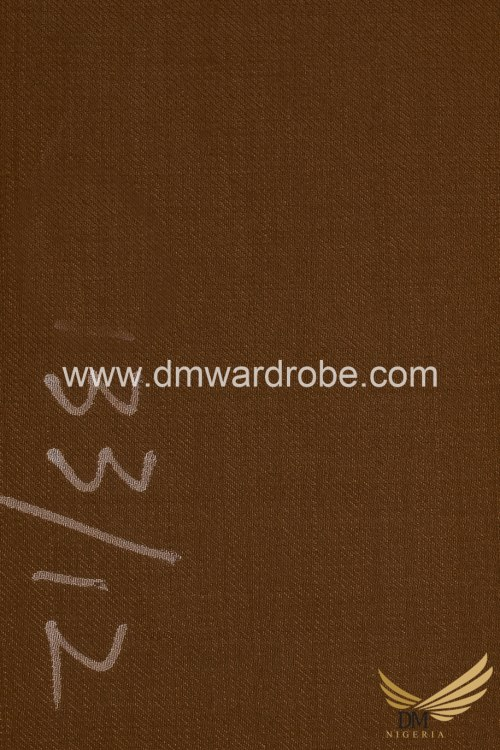 Suiting Russet Fabric