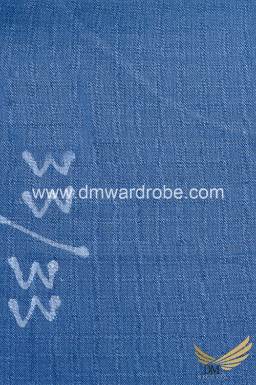 Suiting Airforce Blue Fabric