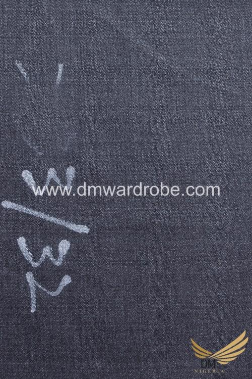 Suiting Dark Grey Fabric