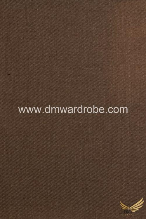 Suiting Brown Rustic Oak Fabric