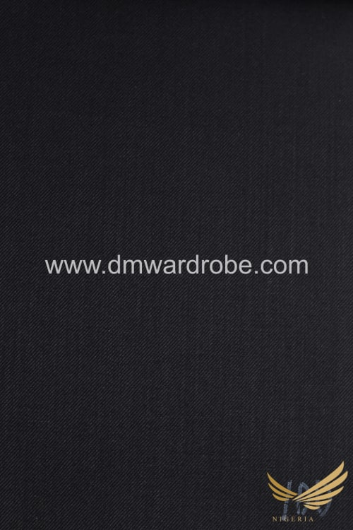 Suiting Black Fabric