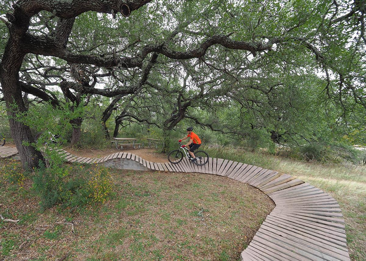 Mountain Biking at Reimers Ranch Park