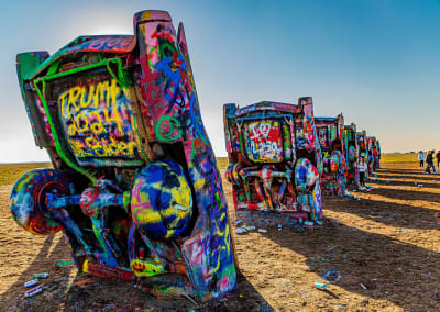 Everyone's an artist at Amarillo's Cadillac Ranch