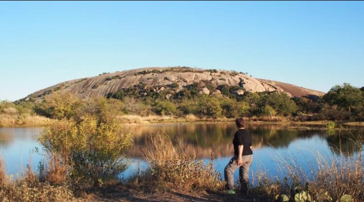 Bring your own water if you're going to Enchanted Rock in June