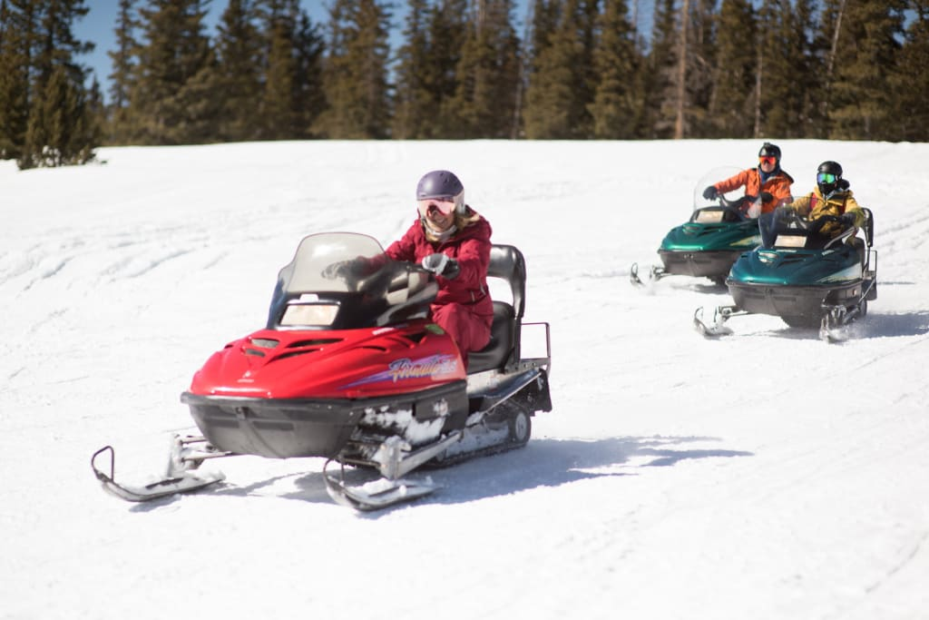 Red River snowmobile
