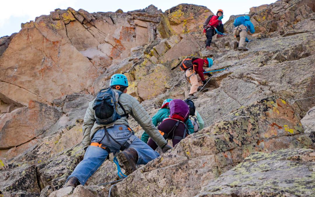 Highest via ferrata in North America opens in Arapahoe Basin