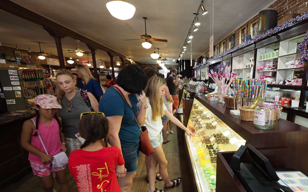 Drop by LaKing's in Galveston for candy, ice cream and nostalgia