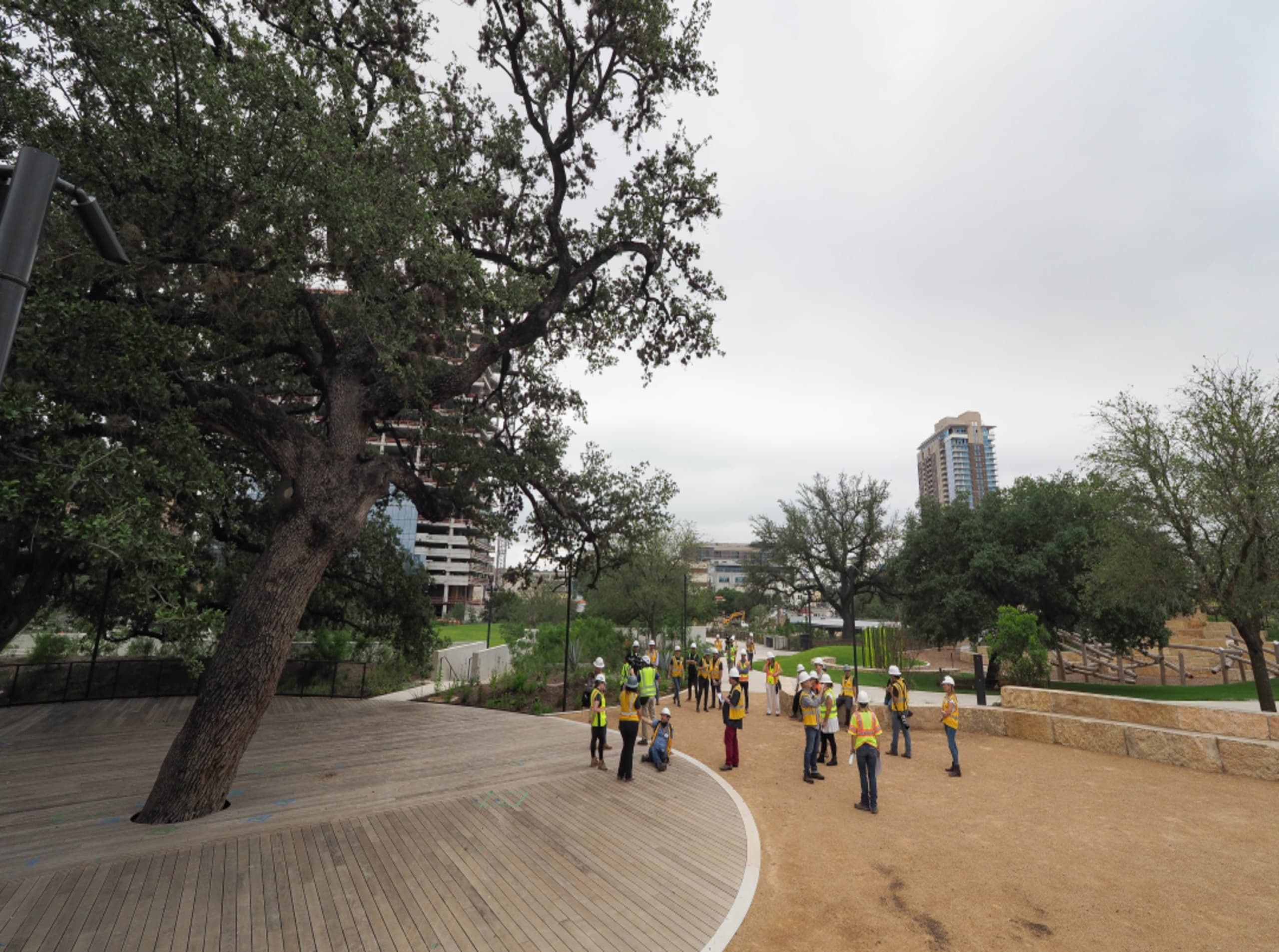 Austin's newest urban green space, Waterloo Park, set to open Aug. 14