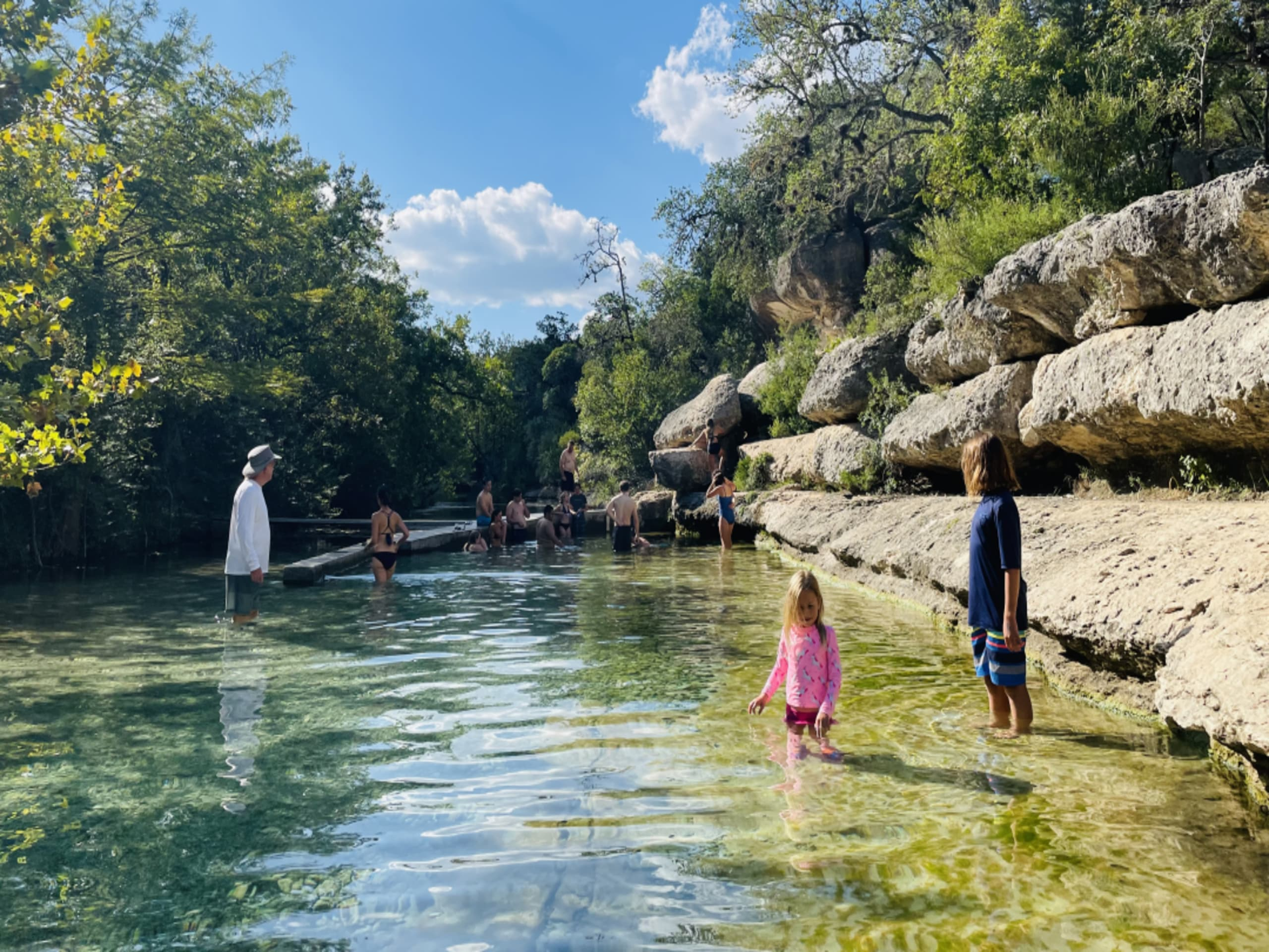 Hold on to summer at these Hill Country swimming holes