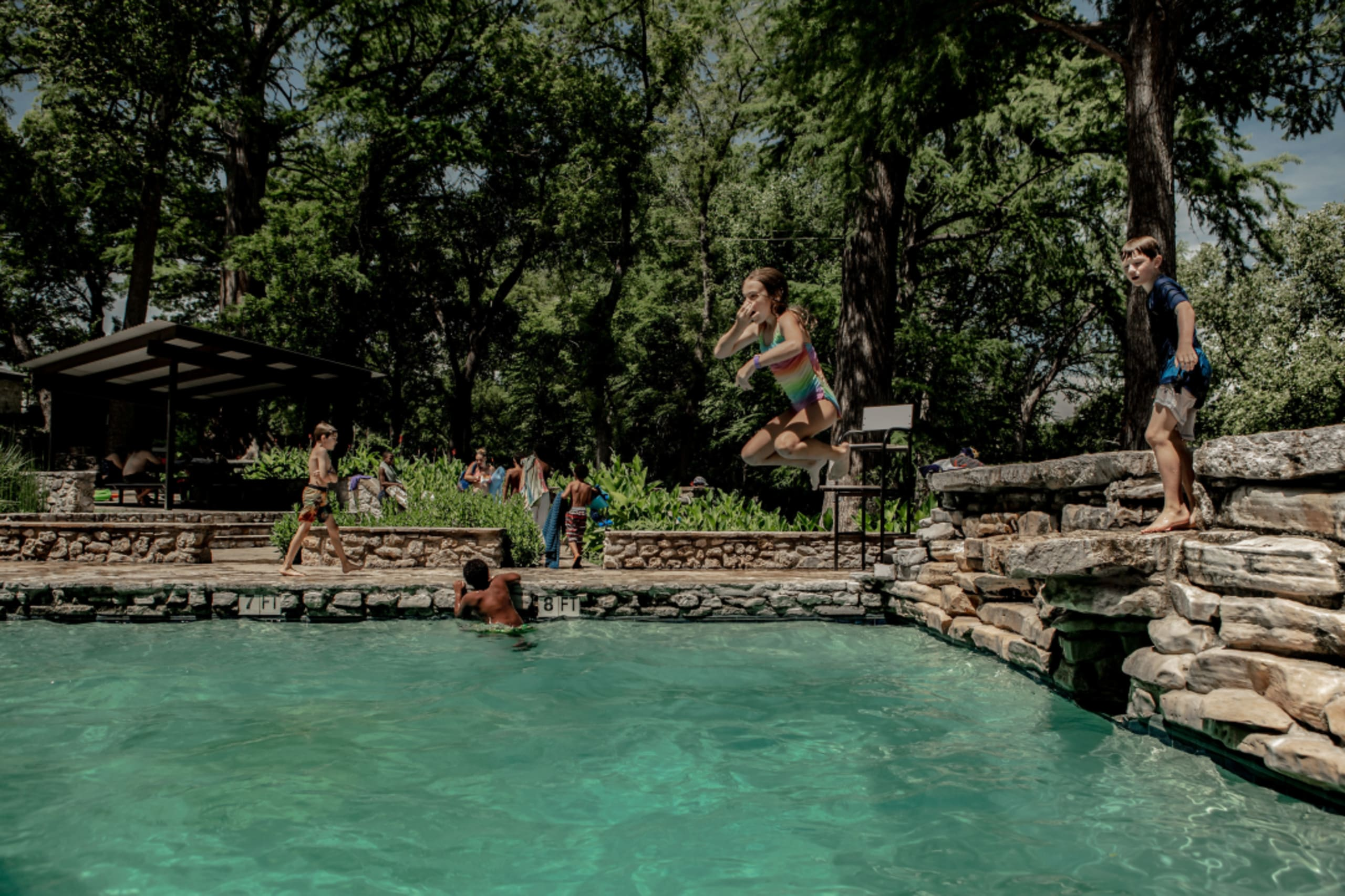 Dive in: 7 swimming holes and natural spots to splash into near Austin