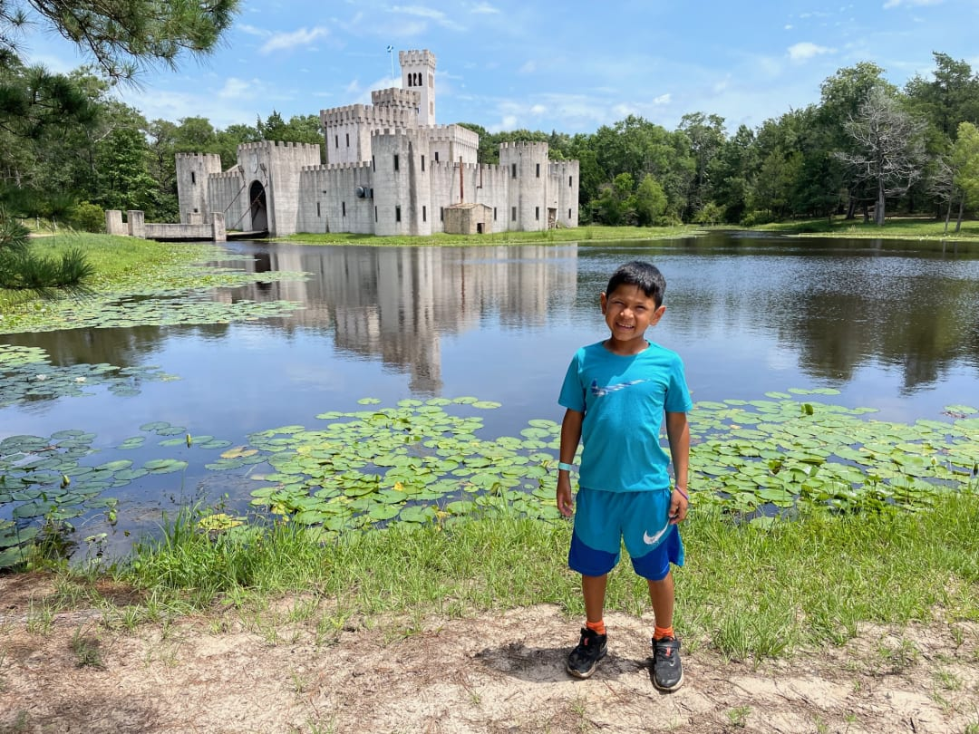 Did you know you can daytrip to a medieval castle in the Texas countryside?
