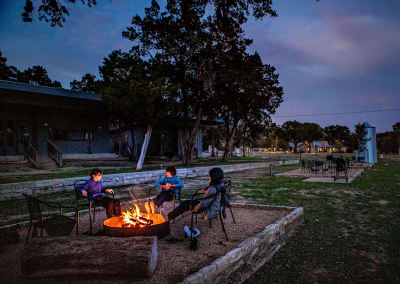 A ghost town, geese and riverfront bliss at 7A Ranch in Wimberley