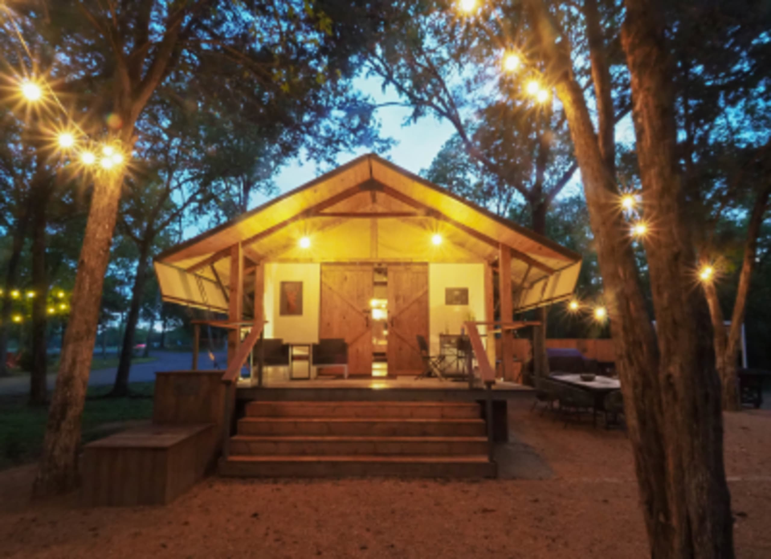 Ditching the tent: Glamping out at Lake Bastrop North Shore Park
