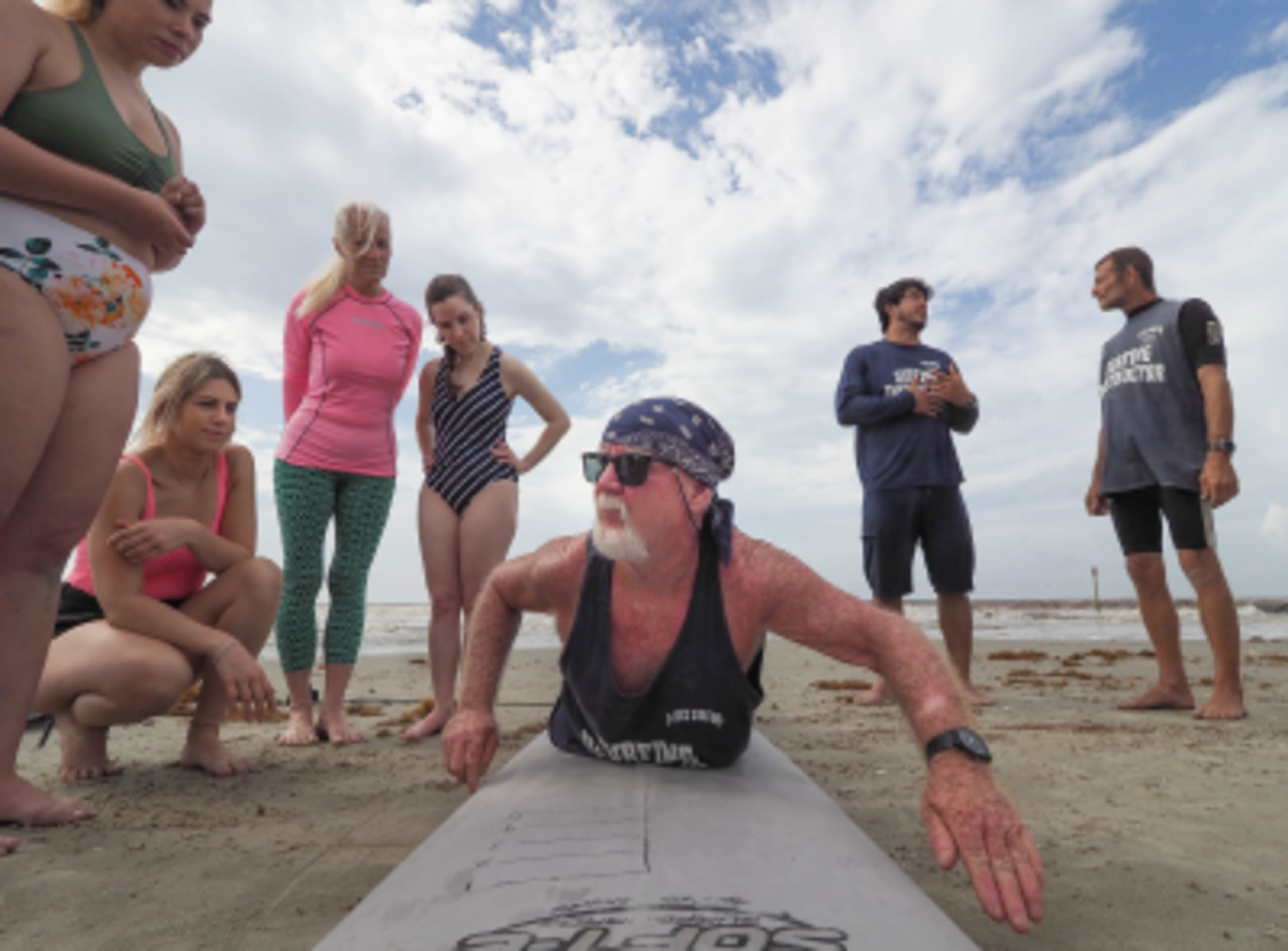 Women, wind and waves: Surfing for adventure