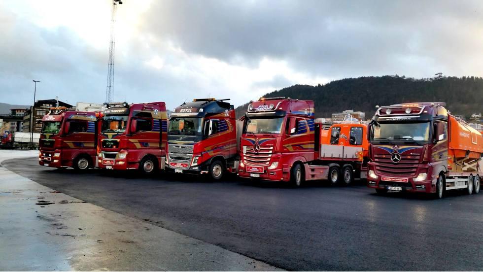 Royal transport AS - firmabilde juni 2018