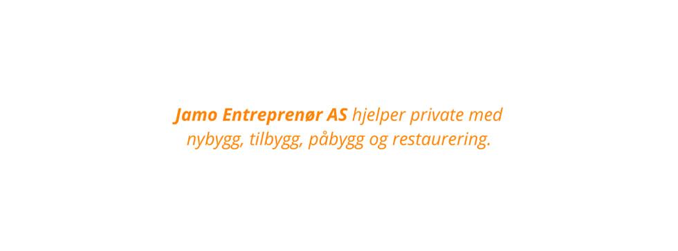 Jamo entreprenør AS fb