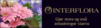 Interflora har blomstene som blir lagt merke til!