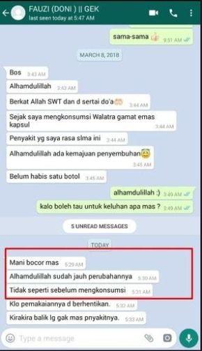 Obat Katup Air Mani Bocor Di Apotik