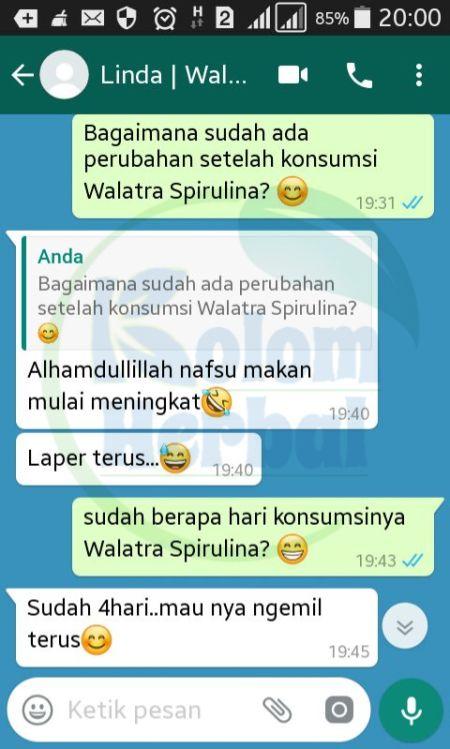Khasiat Dan Manfaat Walatra Spirulina Plantesis