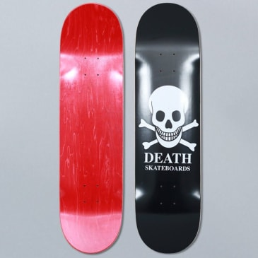Death Skateboards 8.25 OG Skull Black Skateboard Deck