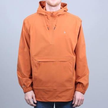 Brixton Patrol AT Anorak Jacket Burnt Orange