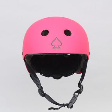 Pro-Tec Classic Fit Certified Youth Skateboard Helmet Matte Pink