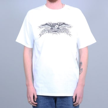 Anti Hero Hesh Eagle T-Shirt White / Black