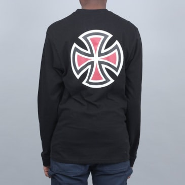 Independent Bar Cross Longsleeve T-Shirt Black