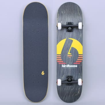 Birdhouse 8 Stage 3 Sunset Complete Skateboard Black