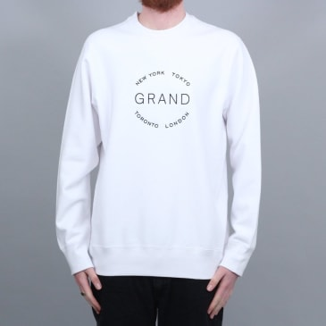 Grand Collection Cities Crewneck White