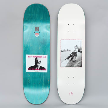 Polar 8.75 Klez Kidney For Sale Skateboard Deck Off White