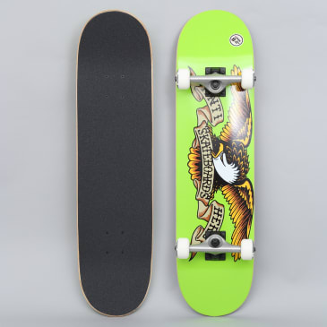 Anti Hero 8 Classic Eagle Large Complete Skateboard Green