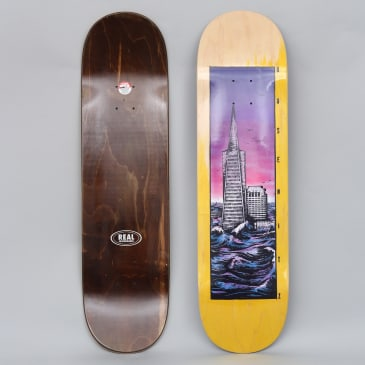 Real 8.38 Busenitz Flooded Skateboard Deck