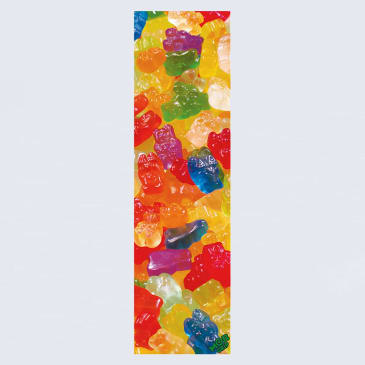 MOB Gummified Graphic Skateboard Griptape - Multi