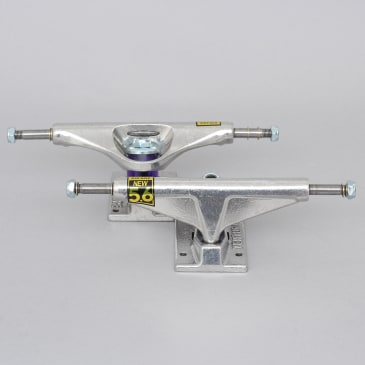 Venture 5.6 High All Polished Skateboard Trucks (Pair)