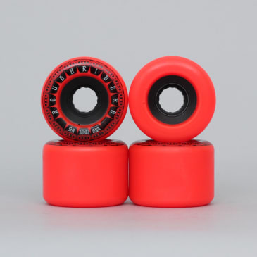 Bones 59mm ATF Rough Riders Tank Wheels Red