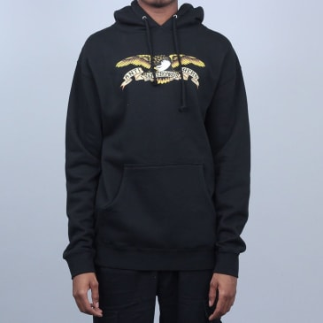 Anti Hero Eagle Hood Black