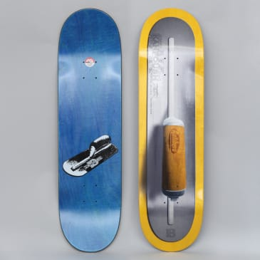 Anti Hero 8.5 Kanfoush Finisher Skateboard Deck Yellow