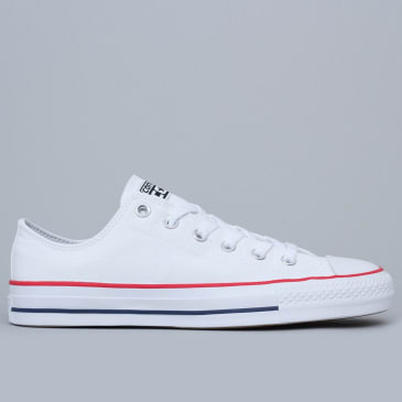 Converse CTAS Pro Shoes OX White / Red / Insignia Blue