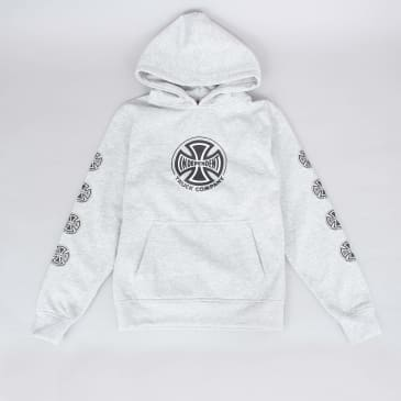 Independent Truck Co Sleeve Youth Hood Heather Grey