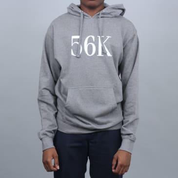 Bronze 56K Flock Hooded Sweatshirt Grey