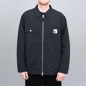 Pop Trading X Carhartt Michigan Chore Jacket Black