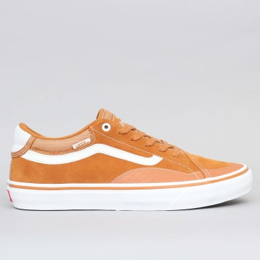 Vans TNT Advance Prototype Shoes Pumpkin / White