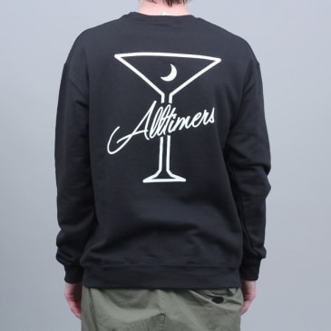 Alltimers Be Kind Crew Black