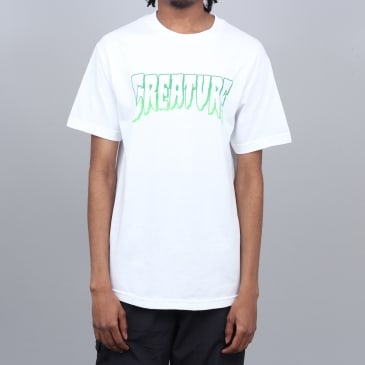 Creature Outline T-Shirt White