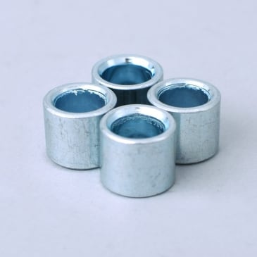 Sushi Steel Bearing Spacers Silver (Pack Of 4)